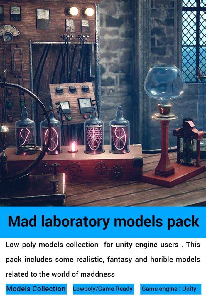mad laboratory models pack