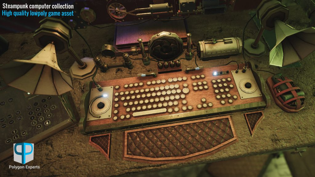 steampunk computer collection content