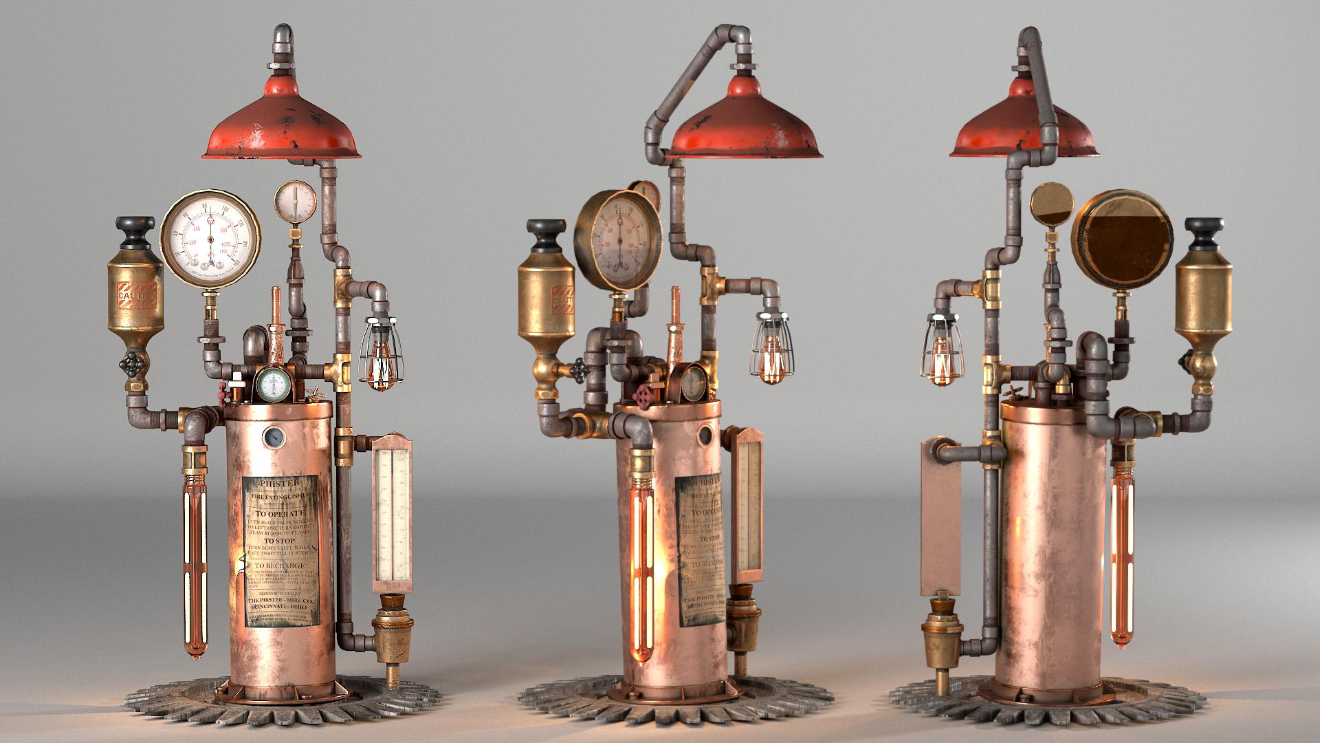Phister chamber light model